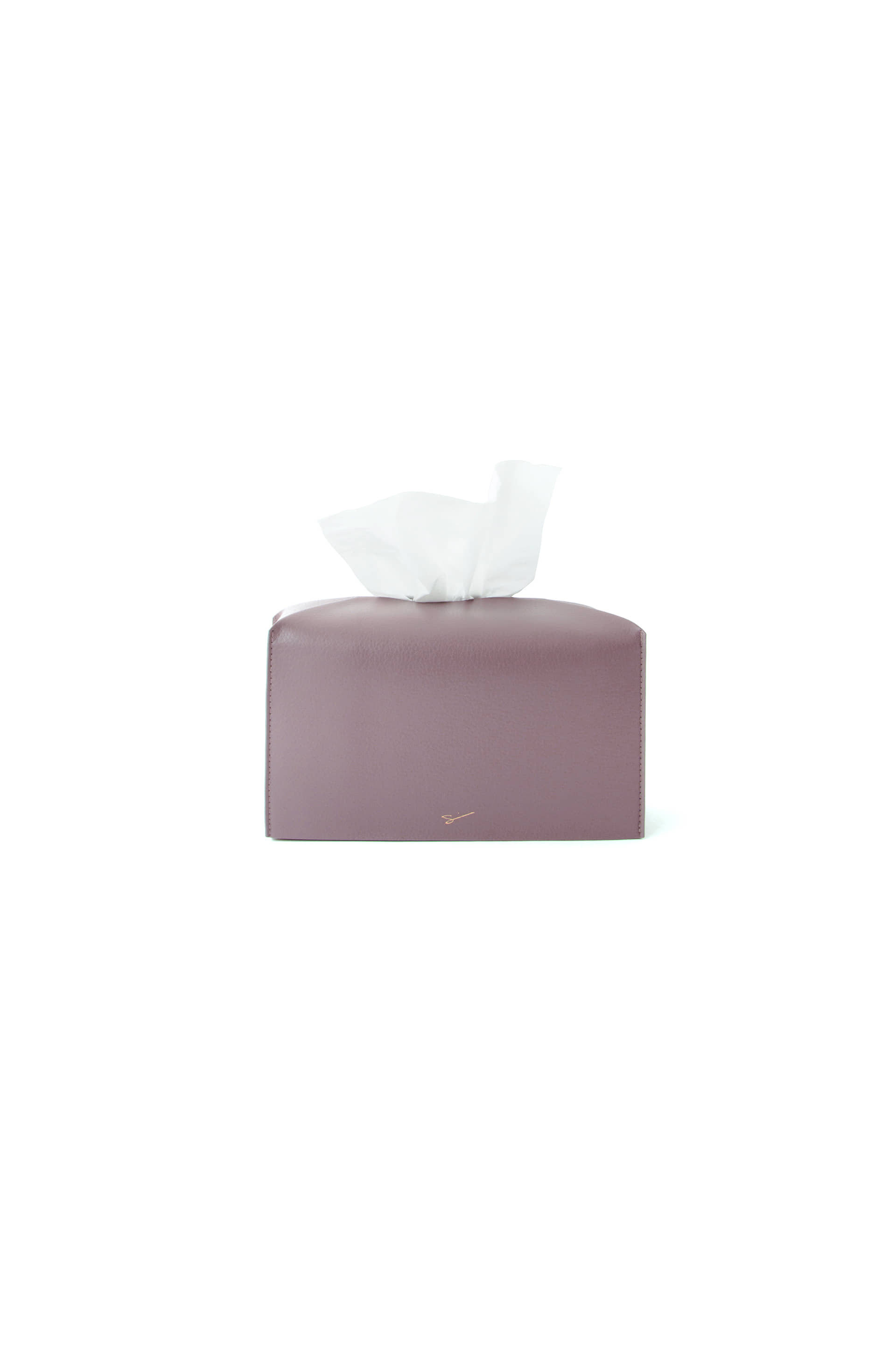 TISSUE CASE L 19 Mulberry Purple